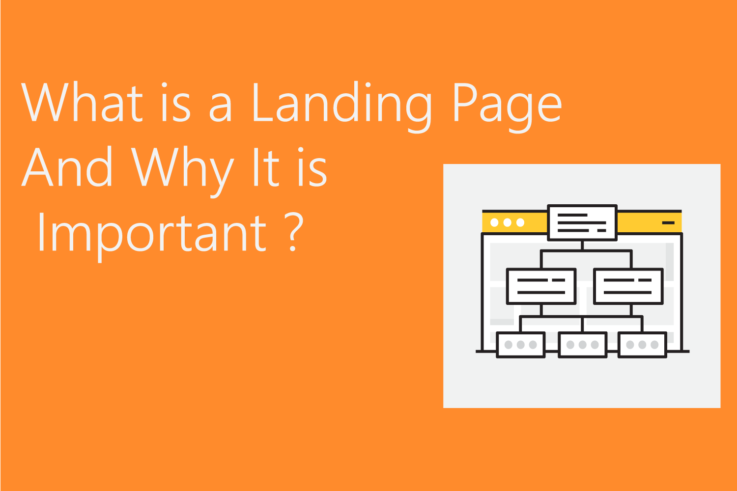 What Is a Landing Page And Why It is Important